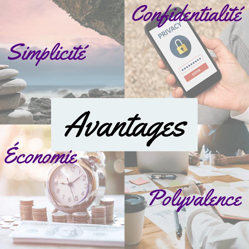 avantages pour les professionnels